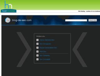 blog-de-seo.com screenshot