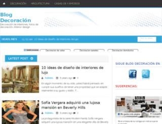 blog-decoracion.com.ar screenshot