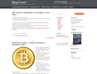 blog-expert.fr screenshot