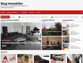 blog-immobilier.org screenshot