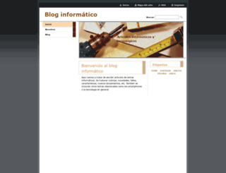blog-informatico9.webnode.es screenshot