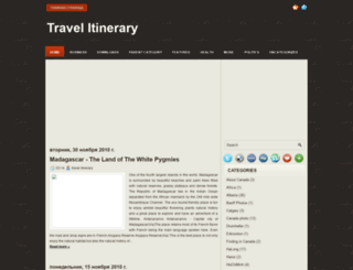 blog-travel-itinerary.blogspot.com screenshot