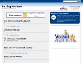 blog-voisineo.com screenshot
