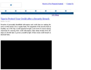 blog.101financial.com screenshot