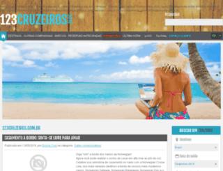 blog.123cruzeiros.com.br screenshot