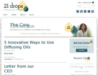 blog.21drops.com screenshot