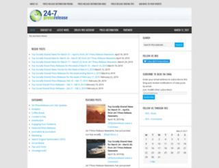 blog.24-7pressrelease.com screenshot