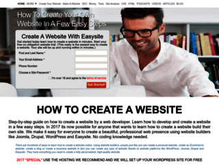 blog.2createawebsites.com screenshot