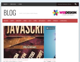 blog.33webtasarim.com screenshot