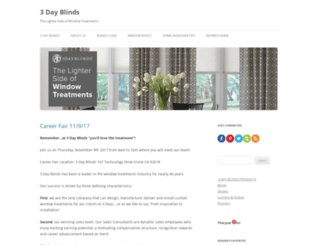 blog.3dayblinds.com screenshot