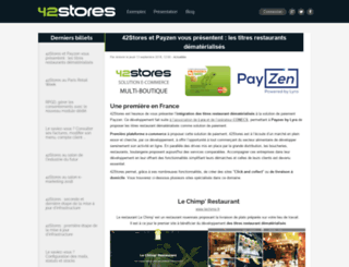 blog.42stores.com screenshot