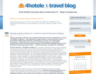 blog.4hotele.pl screenshot
