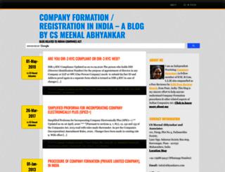 blog.abhyankarcs.com screenshot