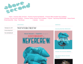 blog.above-second.com screenshot