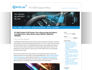 blog.acelaboratory.com screenshot
