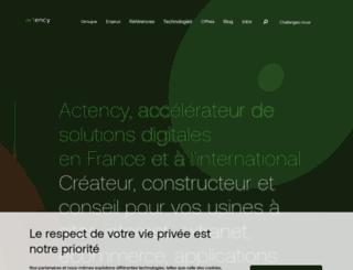 blog.actency.fr screenshot