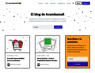 blog.acumbamail.com screenshot