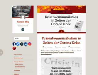 blog.adenion.de screenshot