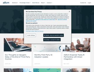 blog.adform.com screenshot