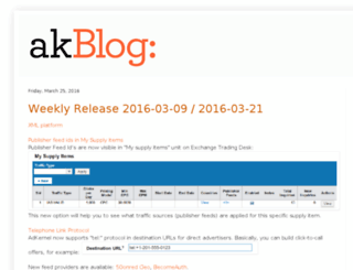 blog.adkernel.com screenshot