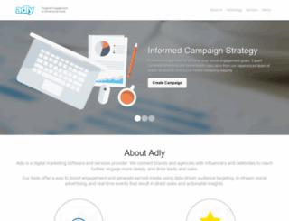 blog.adly.com screenshot