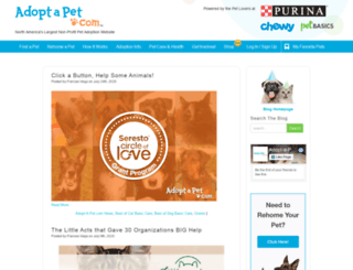 blog.adoptapet.com screenshot