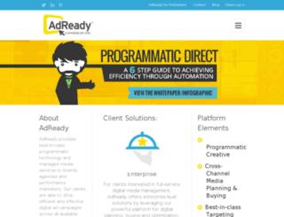 blog.adready.com screenshot