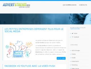 blog.advertstream.com screenshot