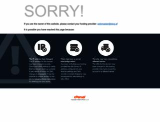 blog.af screenshot