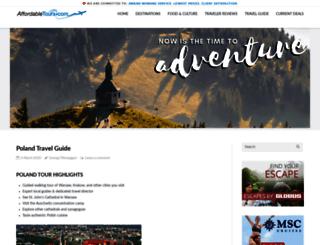 blog.affordabletours.com screenshot