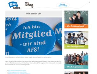 blog.afs.de screenshot