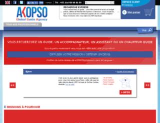blog.akopso.com screenshot