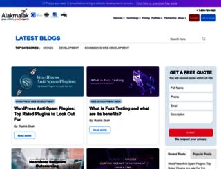 blog.alakmalak.com screenshot