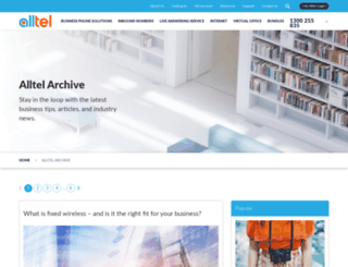 blog.alltel.com.au screenshot