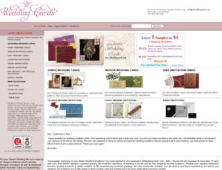 blog.allweddingcards.com screenshot