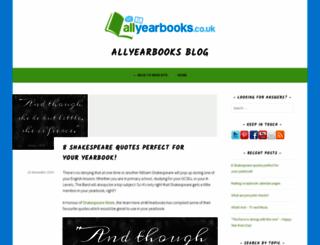 blog.allyearbooks.co.uk screenshot