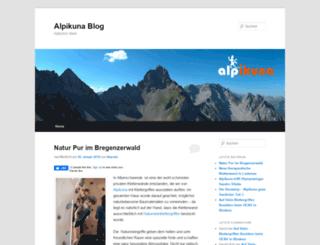 blog.alpikuna.at screenshot
