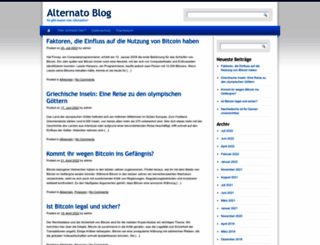 blog.alternato.de screenshot