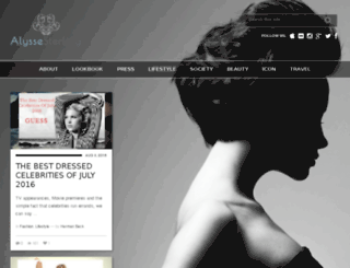 blog.alyssesterling.com screenshot