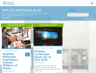 blog.amat.com screenshot
