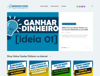 blog.andersonferro.com.br screenshot