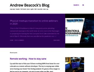 blog.andrewbeacock.com screenshot