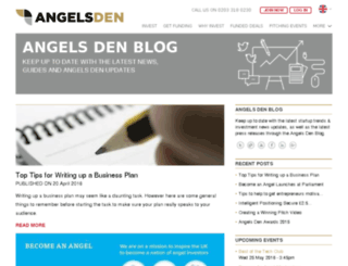 blog.angelsden.co.uk screenshot