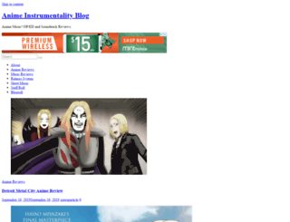 blog.animeinstrumentality.net screenshot