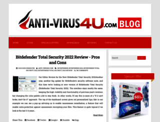 blog.anti-virus4u.com screenshot