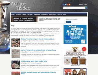 blog.antiquetrader.com screenshot