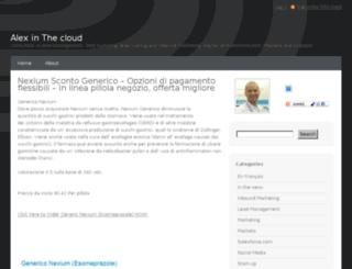 blog.apelletier.com screenshot