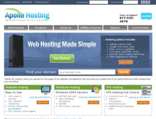 blog.apollohosting.com screenshot
