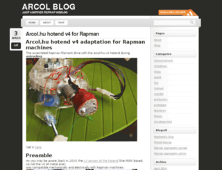 blog.arcol.hu screenshot