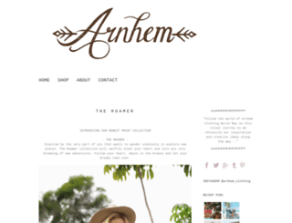 blog.arnhem.co screenshot